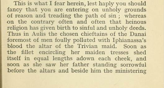 Lukretius: On the Nature of Things (translated by H.A.J.Munro), London 1886, H.Routledge & Sons Ltd