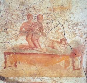 Fresko-in-Pompeji--1