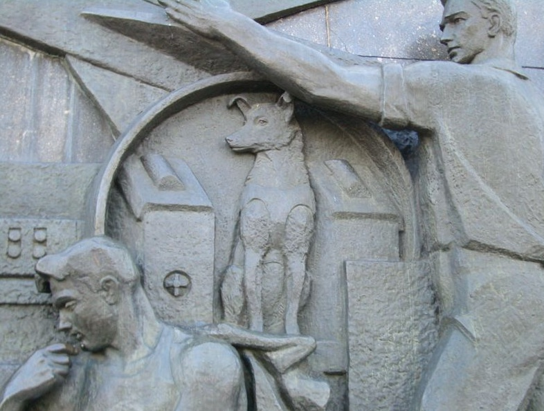 A New Monument for Laika, Russia's Heroic Space Dog - Telstar ...